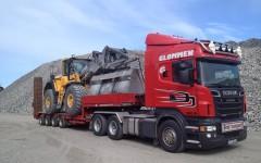 Glømmen har hjullastere fra 17 til 26 tonn.